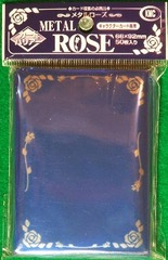 KMC Blue Metal Rose 50 Sleeve Pack