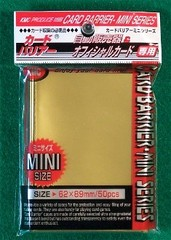 KMC Mini Sized Gold 50 Sleeve Pack