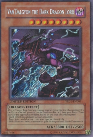 Van'Dalgyon the Dark Dragon Lord - YR01-EN001 - Secret Rare - Promo Edition