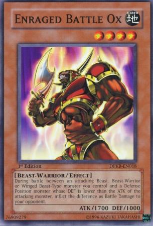 Enraged Battle Ox - DPKB-EN018 - Common - 1st Edition