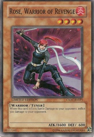 Rose, Warrior of Revenge - CSOC-ENSP1 - Super Rare - Limited Edition