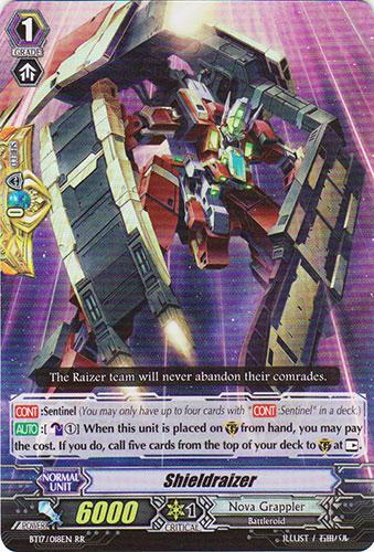 Shieldraizer - BT17/018EN - RR