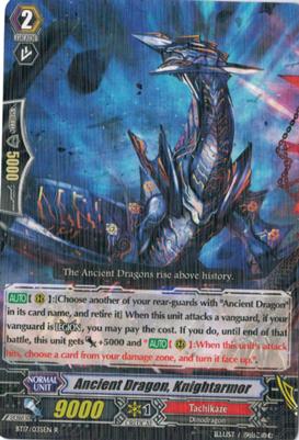 Ancient Dragon, Knightarmor - BT17/035EN - R