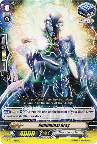 Subliminal Gray - BT17/101EN - C