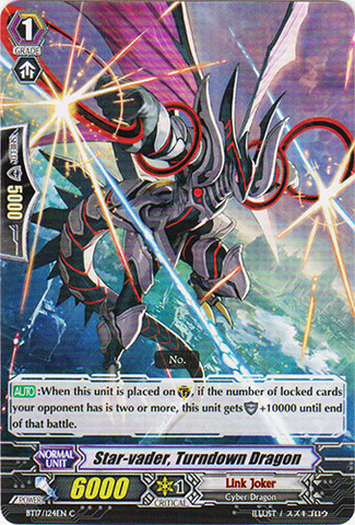 Star-vader, Turndown Dragon - BT17/124EN - C