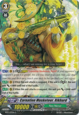 Carnation Musketeer, Rikhard - BT17/137EN - C