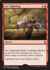 Arc Lightning (Ugin's Fate)