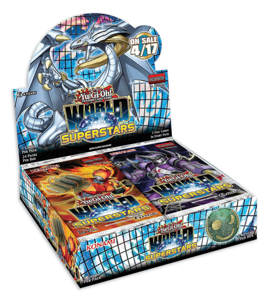 Yu-Gi-Oh World Superstars Booster Box