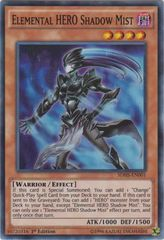 Elemental HERO Shadow Mist - SDHS-EN001 - Super Rare - 1st Edition