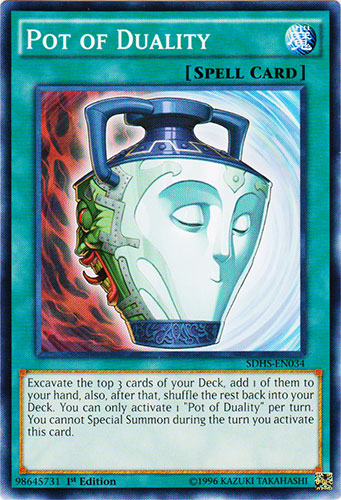 Pot of Duality - SDHS-EN034 - Common - 1st Edition