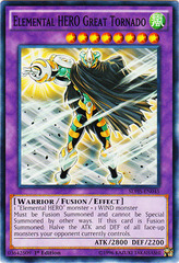 Elemental HERO Great Tornado - SDHS-EN045 - Common - 1st Edition