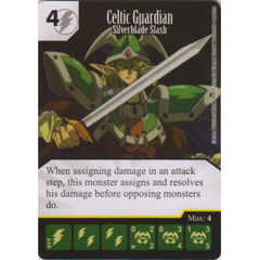 Celtic Guardian - Silverblade Slash (Die & Card Combo)