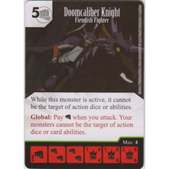 Doomcaliber Knight - Fiendish Fighter (Die & Card Combo)