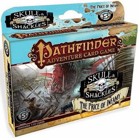 Pathfinder Adventure Card Game: Skull & Shackles Adventure Deck 5 – The Price of Infamy