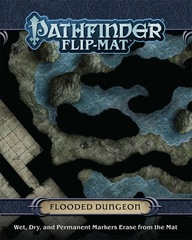 Pathfinder Flip-Mat - Flooded Dungeon