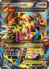 Primal Groudon-EX - 151/160 - Full Art