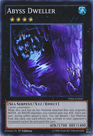 Abyss Dweller - THSF-EN047 - Super Rare - 1st Edition