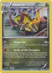 Haxorus - 69/101 - Plasma Blast Blister Exclusive