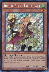 Ritual Beast Tamer Lara - THSF-EN022 - Secret Rare - 1st Edition on Channel Fireball