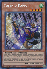Yosenju Kama 1 - THSF-EN003 - Secret Rare - 1st Edition