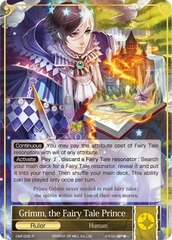 Grimm, the Fairy Tale Prince - CMF-005 - R on Channel Fireball