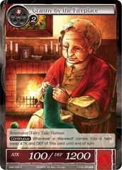 Granny by the Fireplace - CMF-025 - C - 1st Printing on Channel Fireball