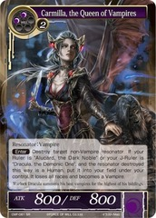 Carmilla, the Queen of Vampires - CMF-081 - SR - 1st Printing on Channel Fireball