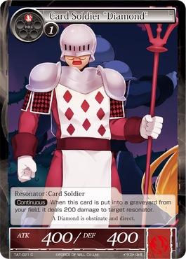 Card Soldier Diamond - TAT-021 - C - 1st Printing