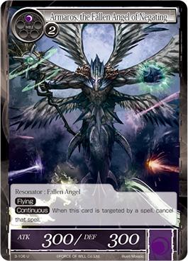 Armaros, the Fallen Angel of Negating - 3-106 - U