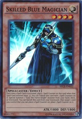 Skilled Blue Magician - SECE-ENS07 - Super Rare - Limited Edition