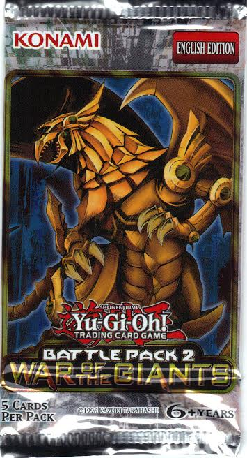 Yu-Gi-Oh Battle Pack 2: War of the Giants Unlimited Booster Pack