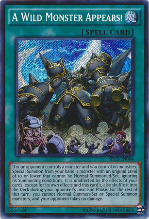 A Wild Monster Appears! - SECE-EN064 - Secret Rare - Unlimited Edition