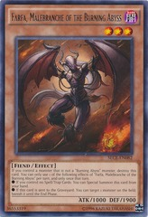 Farfa, Malebranche of the Burning Abyss - SECE-EN082 - Rare - Unlimited Edition