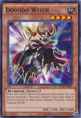 Dododo Witch - SECE-EN091 - Common - Unlimited Edition