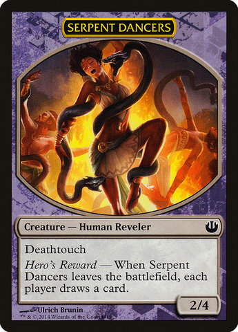 Serpent Dancers