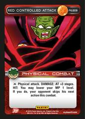 Red Controlled Attack - 123 - Foil