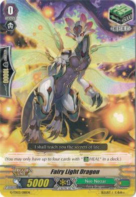 Fairy Light Dragon - G-TD03/018EN
