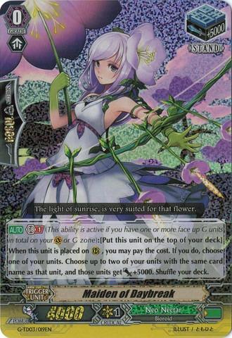 Maiden of Daybreak - G-TD03/019EN (RRR)