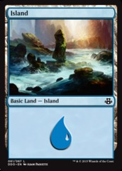 Island (61) on Channel Fireball