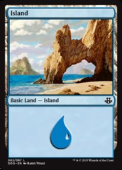 Island (62) on Channel Fireball