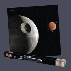 FFG Mats : Star Wars X-Wing - Death Star Assault Game Mat 3x3