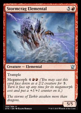 Stormcrag Elemental - Foil