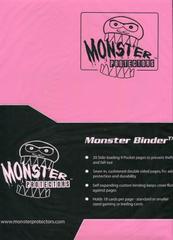 Monster Protectors 9-Pocket Binder - Matte Light Pink