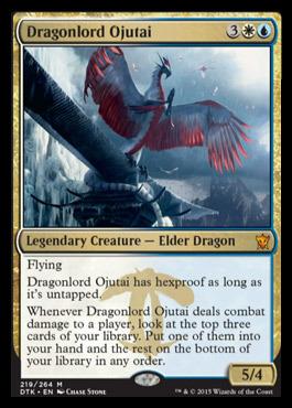 Dragonlord Ojutai - Foil