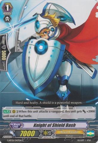 Knight of Shield Bash - G-BT01/047EN - C