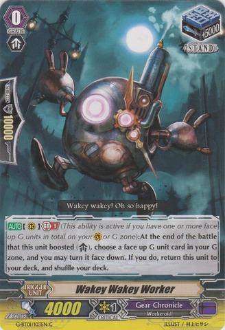 Wakey Wakey Worker - G-BT01/103EN - C
