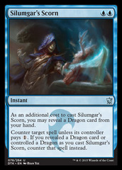 Silumgar's Scorn - Foil