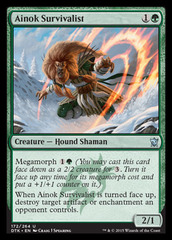 Ainok Survivalist - Foil on Channel Fireball
