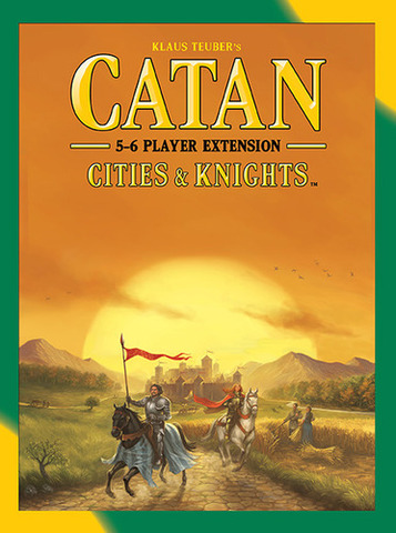 Catan: Cities & Knights – 5-6 Player Extension (2015)