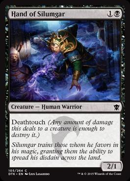 Hand of Silumgar - Foil